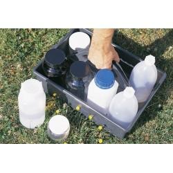 Univerzální box pro přepravu vzorkovacích lahví a materiálů